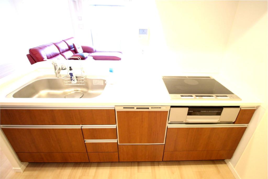 クレアホームズ榴ヶ岡テラス キッチン