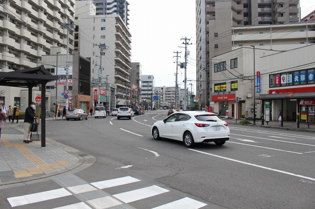 北仙台駅前
