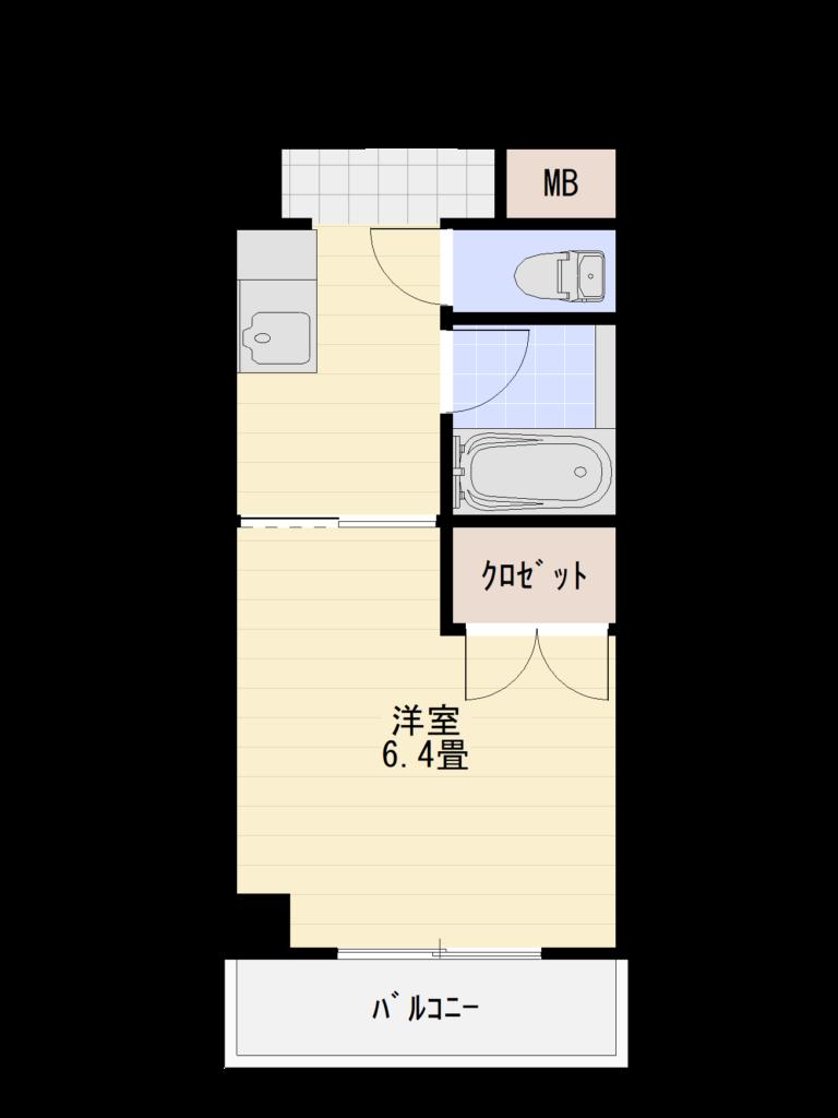 トレモワーユ北仙台2F Bタイプ