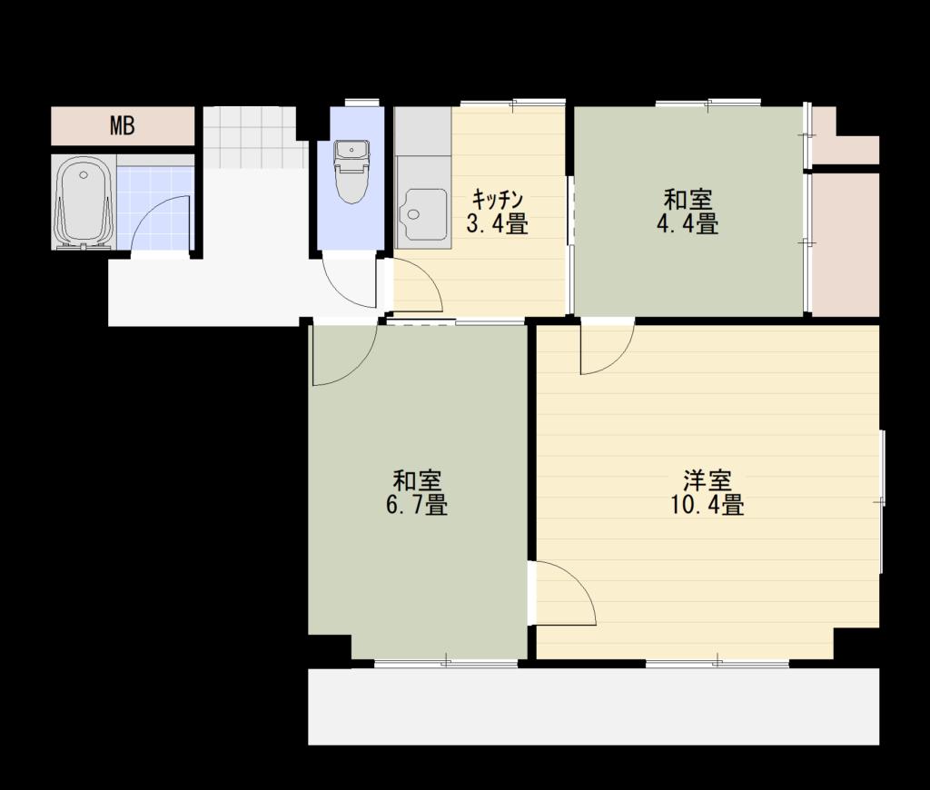 トレモワーユ北仙台301